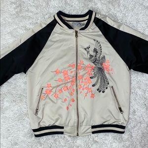 Embroider Bomber Jacket